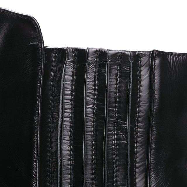 ESVEVA British Style Pointed Toe Genuine Leather High Heel Ankle Boots