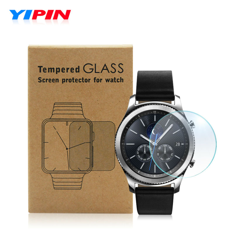 Screen Protector Tempered Glass for Samsung Galaxy Gear S3 Classic or Frontier 9H 2 5D font