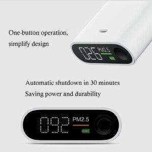 Image 5 - Youpin SmartMi PM2.5 אוויר גלאי אוויר באיכות בודק OLED מסך תצוגה אינטליגנטית גבוהה דיוק לייזר נייד חיישן