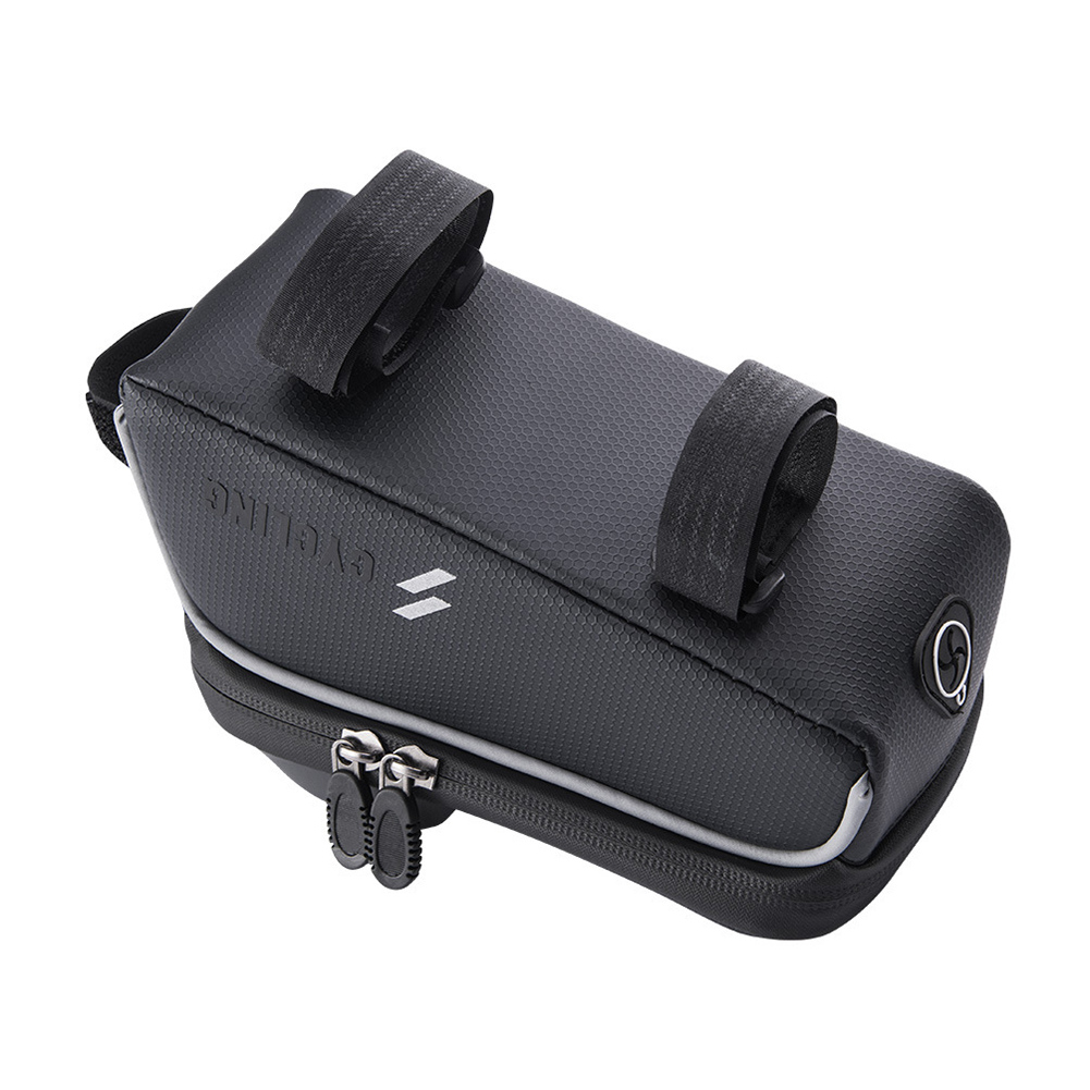 Front Tube Cycling Package  Screen Saddle Cell Phone Holder Bicycle Bag Frame
