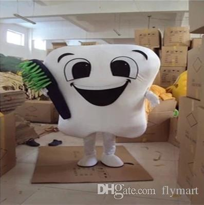 Teeth mascot costume tooth mascot costume toothbrush mascot costume adult size for Christmas,East Sunday,hallowmas,New Year image