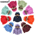 2-6Y Children's Outerwear Winter baby boy down jacket Parkas for Boys Girl kids Hooded duck Down Girls Coat Kids Casual Jacket