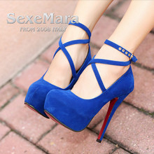 New High-heeled Shoes Woman Pumps Wedding Shoes Platform Women Shoes Red Bottom High Heels 11cm Suede Dance Shoes zapatos mujer