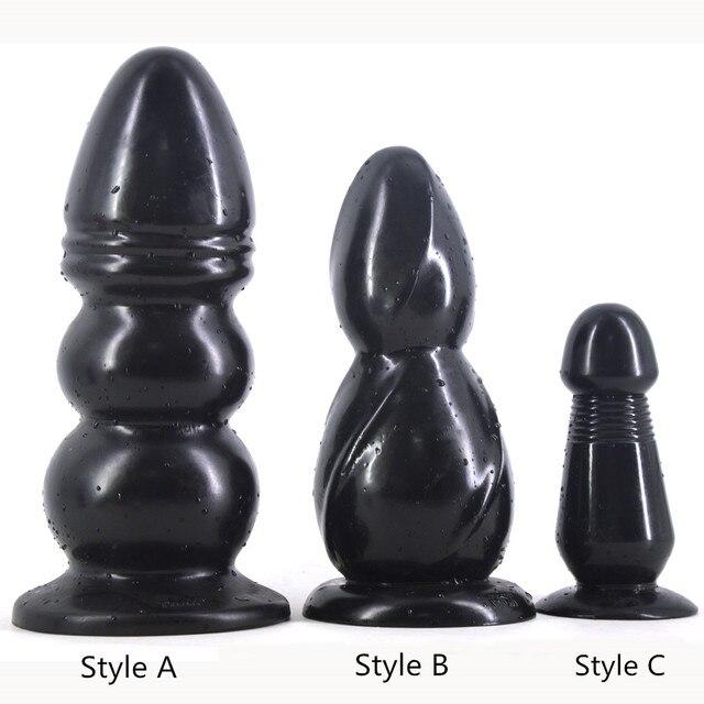 Gros Silicone Chien Queue Anal Butt Plug Big Anus Perle Stimulateur.