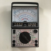 MF47A AC DC Voltage DC Current Resistance Capacitance Buzzer On Off Battery Testing Diode Analog Multimeter