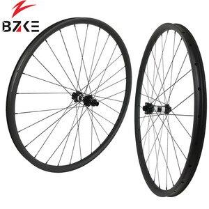 Image 3 - פחמן גלגלי 29 mtb אופניים זוג גלגלי boost הרי אופני גלגלי 29er XD מרכז מנעול דיסק 350 רכזות 148*12 110*15mm thru 30 רחב
