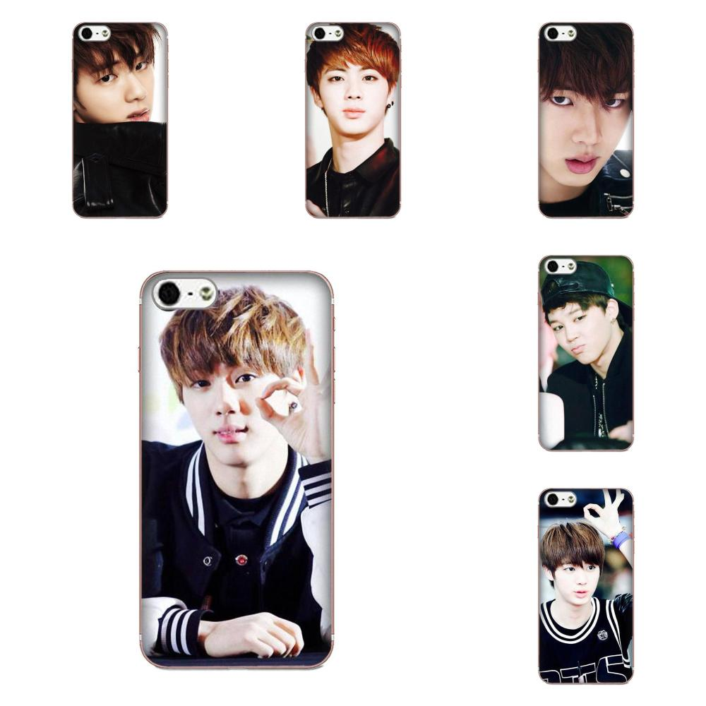 TPU Muster Für Galaxy Alpha Core Anmerkung 2 3 4 S2 A10 A20 A20E A30 A40 A50 A60 A70 M10 m20 M30 <font><b>Bts</b></font> Bangtan Boys Jin image