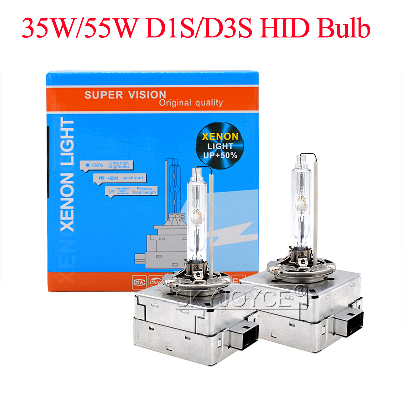 SKYJOYCE 10 stücke Premium AC 55 watt D1S Hid lampe Xenon D1S 6000 karat 4300 karat 5000 karat D3S 35 watt Auto Scheinwerfer Xenon D1S D3S HID Ersatz Birne - 2