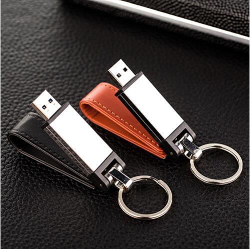 Image 5 - Высококачественная кобура, 3 цвета, кожаный брелок, u диск, флеш накопитель, 4 ГБ/8 ГБ/16 ГБ/32 ГБ/64 Гб/128 г, usb флеш накопитель, флешка-in USB флэш-накопители from Компьютер и офис