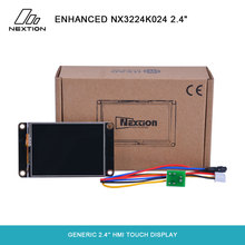 "Nextion enhanced nx3224k024 16 mb 플래시 데이터 저장 공간/2.4 바이트 eeprom/큰 ram 터치 디스플레이가있는 일반 1024 ""hmi"