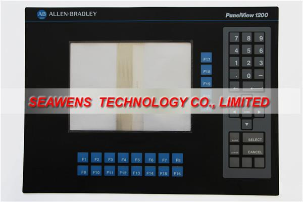 2711-KA1 2711-K12 series membrane for Allen Bradley PanelView 1200 series, FAST SHIPPING new industrial membrane switch keypad 2711p k10c4d2 for ab allen bradley panelview plus 1000
