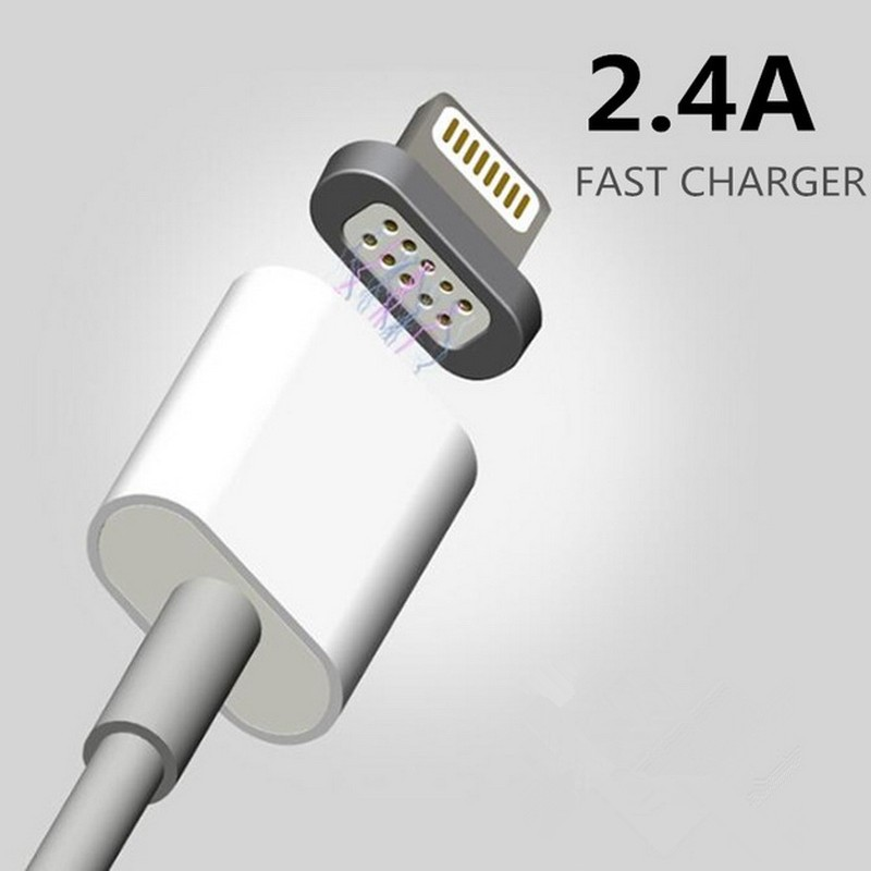 2.4 Magnetic Micro Usb Data Cable for Apple iPhone Charging Cable Android Mobile Phone Charger+Power Home Wall Charger Adapter