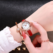 цены Double number women's fashion quartz watches simple small dial women dress watch popular brand wild ladies wristwatches gifts