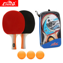 цена на CIMA 8stars Table tennis racket bag and balls set Professional High quality rubber Sports PingPong blade table tennis rackets