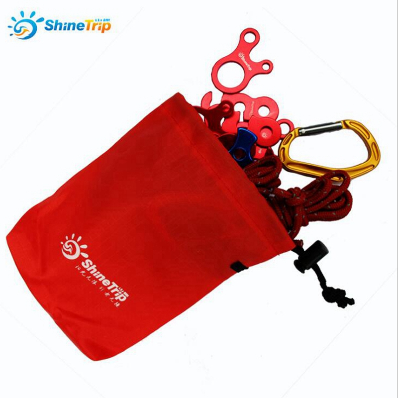 Portable Outdoor Equipment Receive Bag Debris Bag Button Wind Rope Hanging Small Parts Finishing  Beam Pocket Tent Accessory Bag