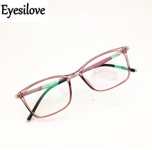 6d6e7246be Fashon señora acabado gafas de miopía mujeres ultra-ligero TR90 gafas de  miopía de corta visión gafas de prescripción-0,50 a -6,.