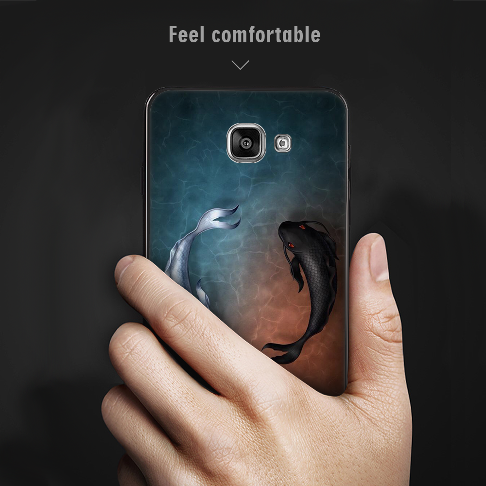 Flower Pattern Phone Case For Samsung Galaxy A8 A6 Plus J4 J6 EU 2018 S9 S8 Note 8 9 A3 A5 A7 J7 J3  J5 2017 Soft Silicone Cover