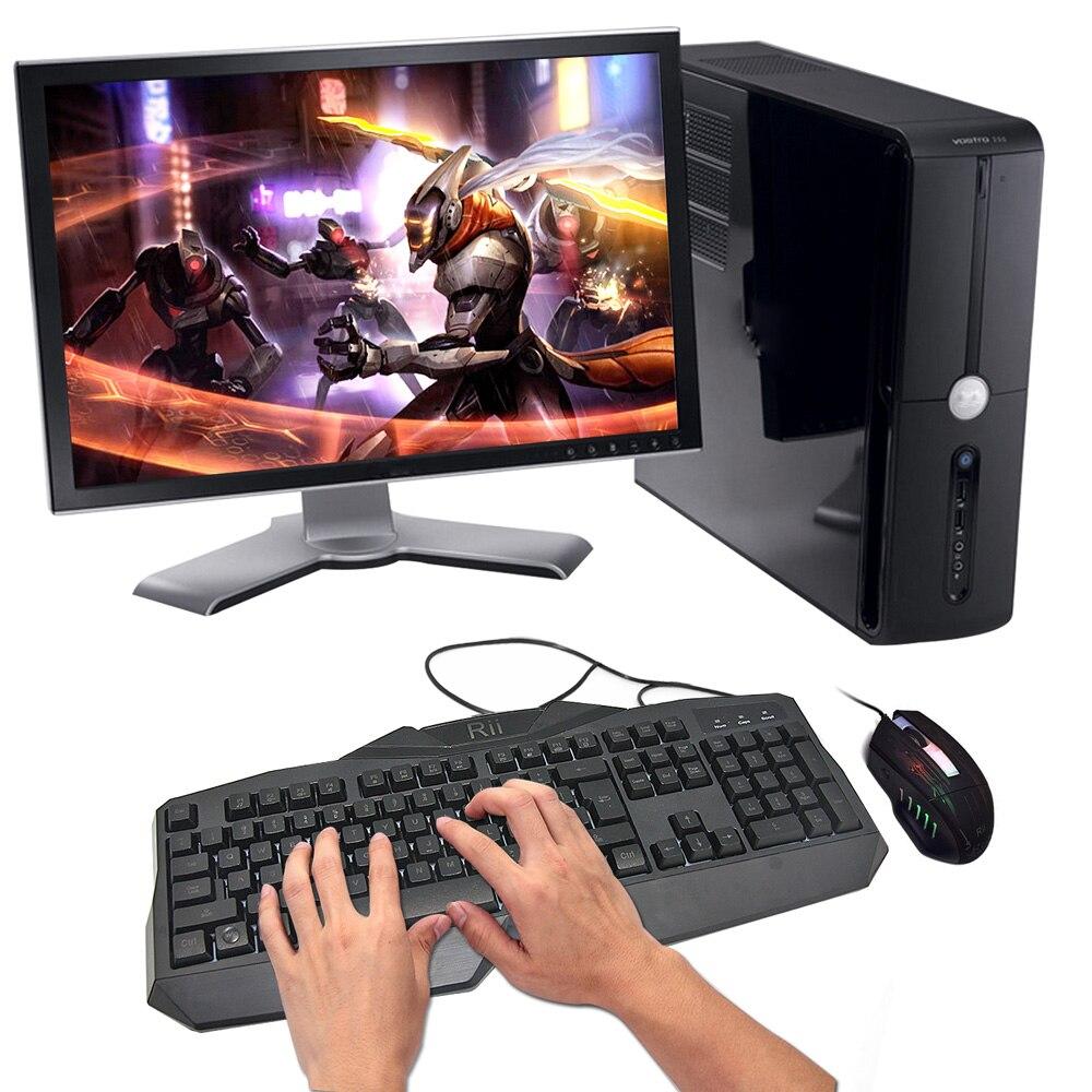 Ergonomische tastatur und maus  Rii RK400 Ergonomische Tastatur LED Leuchtet Backlit USB ...