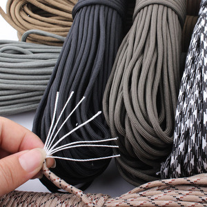 Image 5 - CAMPINGSKY 550 Paracord Parachute Cord Lanyard Tent Rope Mil Spec Type III 7 Strand 100FT Paracord For Hiking Camping 200 Colors