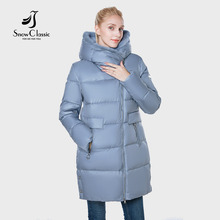 2018 jacket women camperas mujer abrigo invierno coat women park plus size European design Mink hair hat thick Windproof