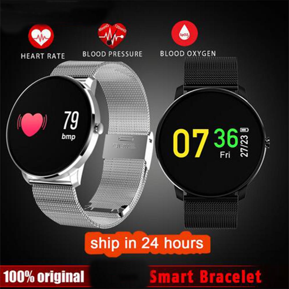 K35S Colorful Moving Bracelet Smart Watch Wristband Heart Rate Blood Pressure Pedometer Smartband for Huawei Ascend Mate S 9 8 7
