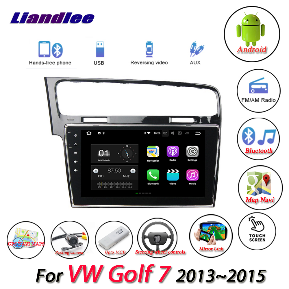 Liandlee Car Android System For Volkswagen VW Golf MK7 2013~2015 Radio USB TV GPS Wifi Nav Navi Navigation HD Stereo Multimedia