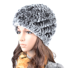 2017 осень и зима рекс кролика волосы меховая шапка полоса носком защитный колпак зима пятидесятилетний тепловой женщина шляпа