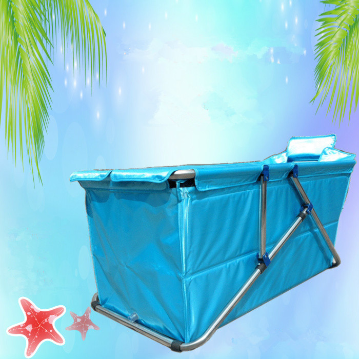 Buy adult spa folding bathtub inflatable bath tub adults inflatable bathtub for Comgrande baignoire plastique
