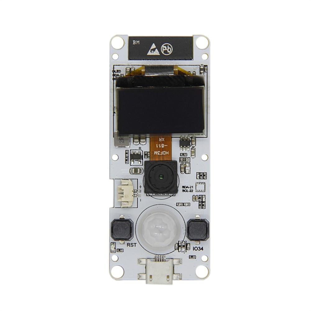 TTGO T-Camera ESP32 WROVER & PSRAM Camera Module ESP32-WROVER-B OV2640 Camera Module 0.96 OLED casti wireless pentru televizor