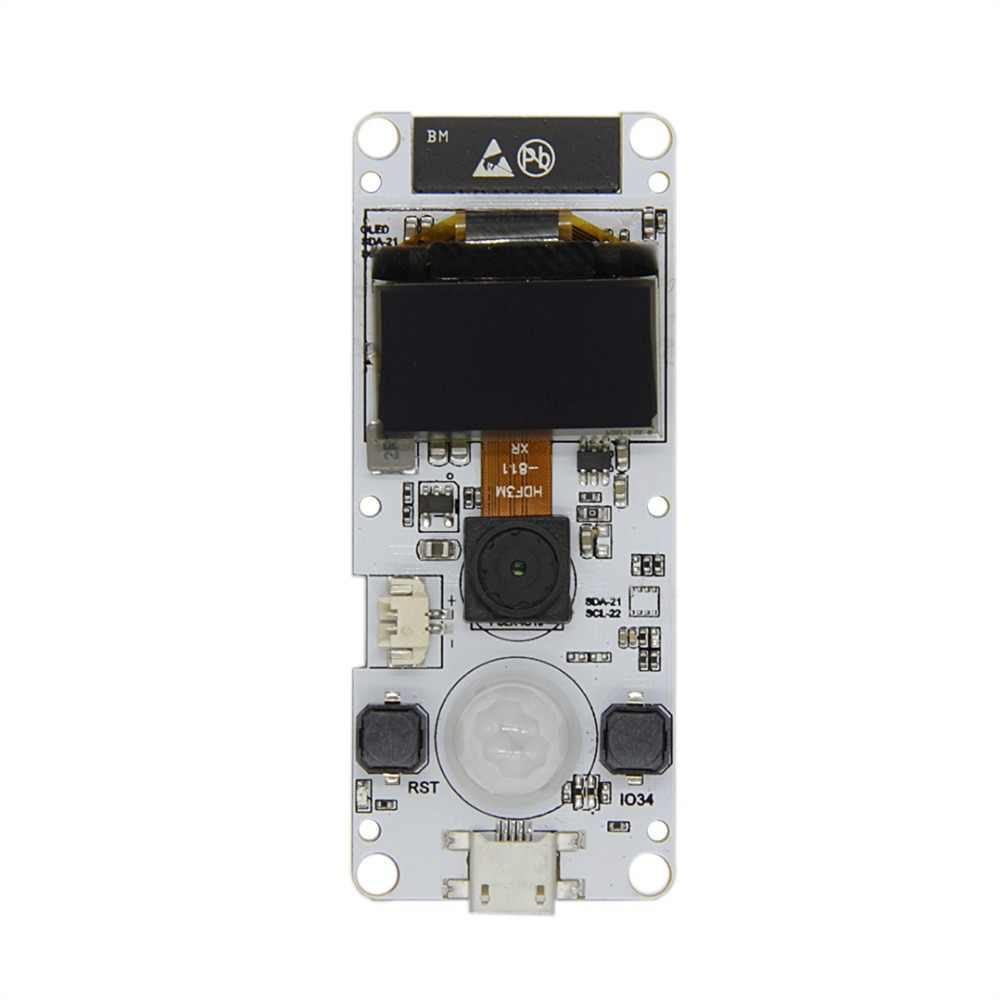 TTGO T-Camera ESP32 WROVER & PSRAM Camera Module ESP32-WROVER-B OV2640 Camera Module 0.96 OLED