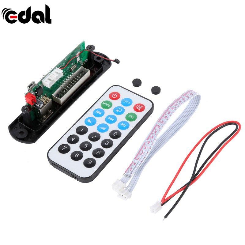 EDAL bluetooth MP3 decoder board module w/SD card slot/USB/FM/remote decoding board module bluetooth mp3 decoding board module w sd card slot usb 2 0 port fm remote black white