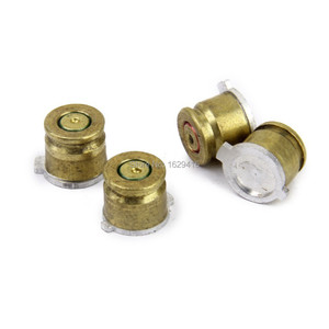 Image 3 - IVYUEEN Gold 9mm Bullet Brass Button Aluminium Action Buttons Kit For Sony Dualshock 4 PS4 Pro Slim Controller Accessories