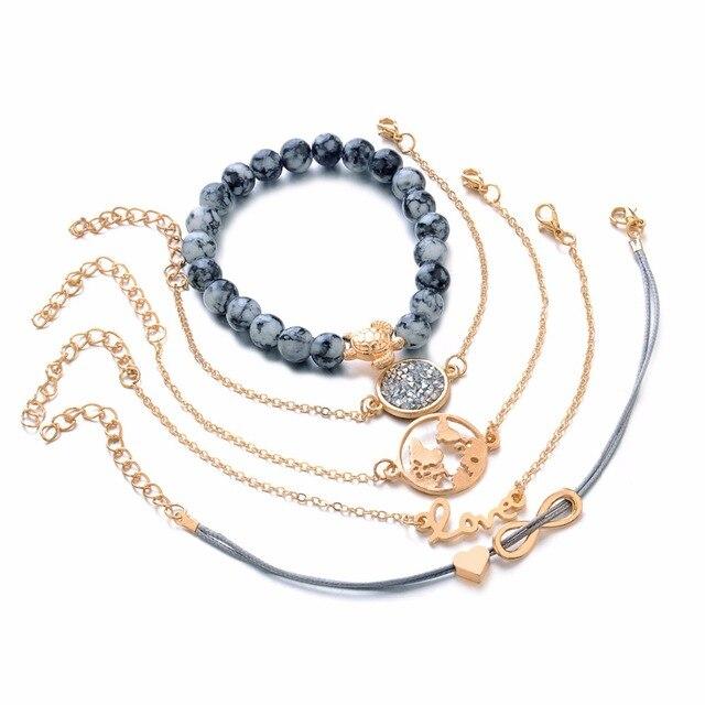Купить diezi богемный браслет с подвеской черепаха браслеты для женщин картинки