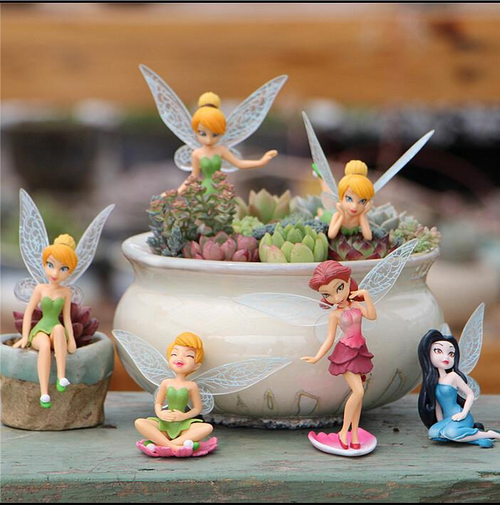 Buy Doll Furnishing Articles Resin Crafts Home Decoration: Online Buy Wholesale Tinkerbell Figure From China