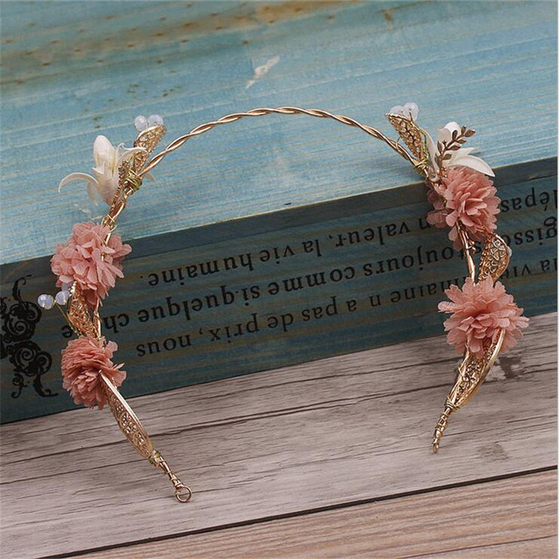 CC Jewelry Hairbands Hair Ornaments Crowns For Beauty For Women Wedding Gifts Tiara Bridal Hair Accessories Party Handmade 2558