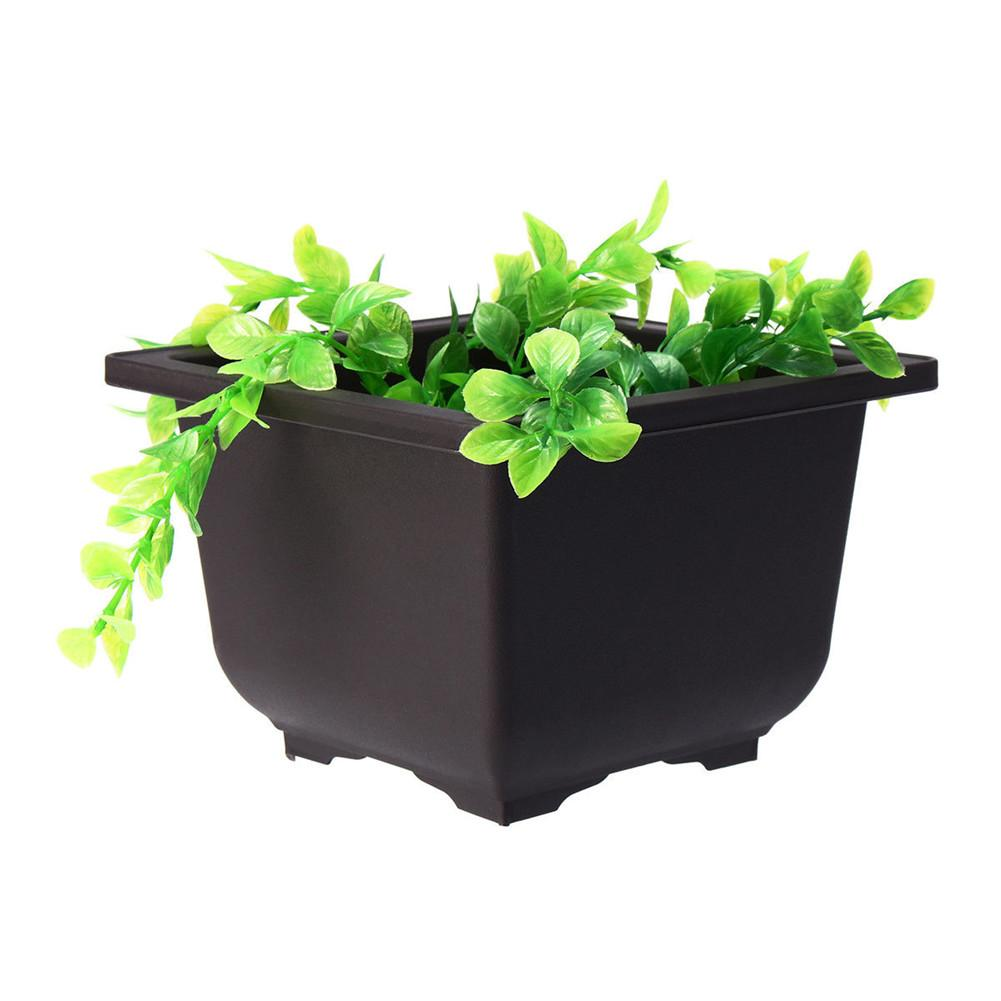 Plant Care Soil Accessories Outdoor Flower Pot Succulents Balcony Rectangle Bonsai Bowl Nursery Planter Sale Home Garden Mbln Org