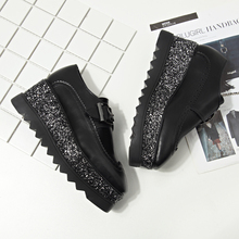 New  Woman Casual  High Heels 2017 Wedges Women's Shoes  Thick Bottom Loose Cake Platform Shoes