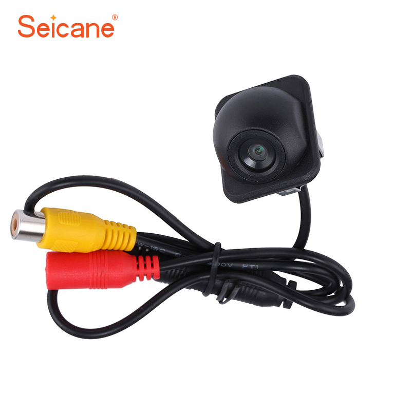 цена на Seicane Waterproof 170 Degree Wide Angle HD Car Rear view camera With Night Vision Parking Backup Reversing Camera