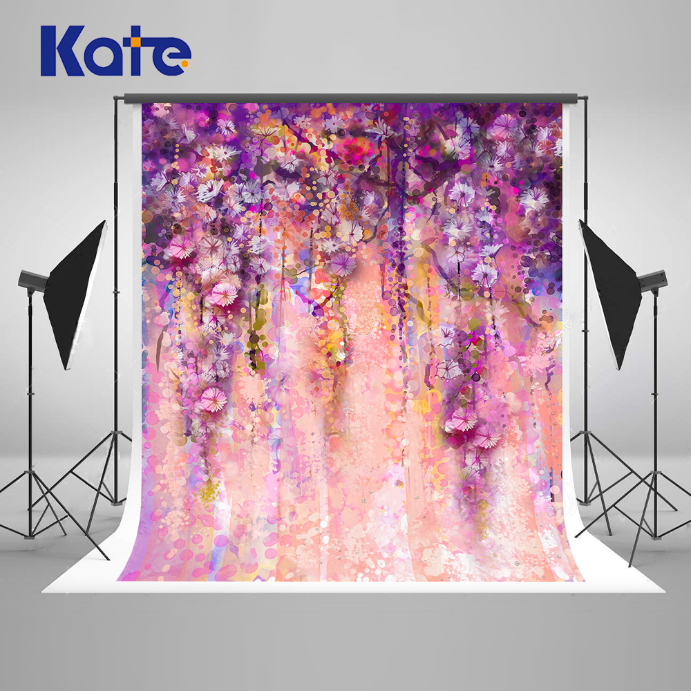 Kate Purple Wedding Photography Backgrounds Customize  Backdrops Romantic Flower Valentine'S Day Backgrounds For Photo Studio deep purple deep purple stormbringer 35th anniversary edition cd dvd