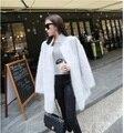 Подлинная норки кашемира свитер женщин чистый кашемир кардиган норки куртка мода зима длинный мех пальто бесплатная доставка