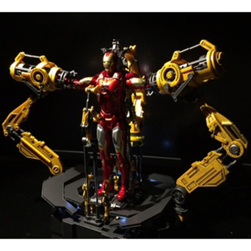 2GOODCO 1//12 Suit-up Gantry Iron Man Armour Dismantling Station Model Alloy Toy