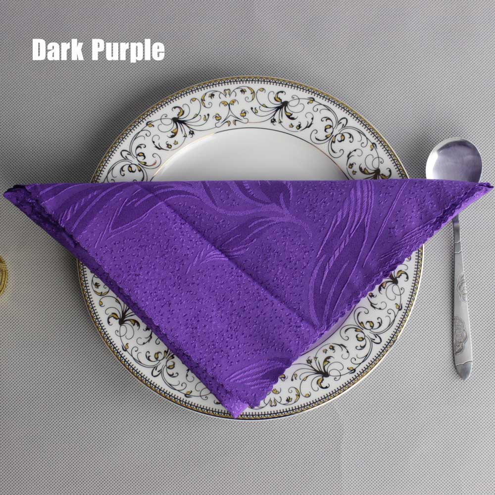 popular purple cloth napkins-buy cheap purple cloth napkins lots