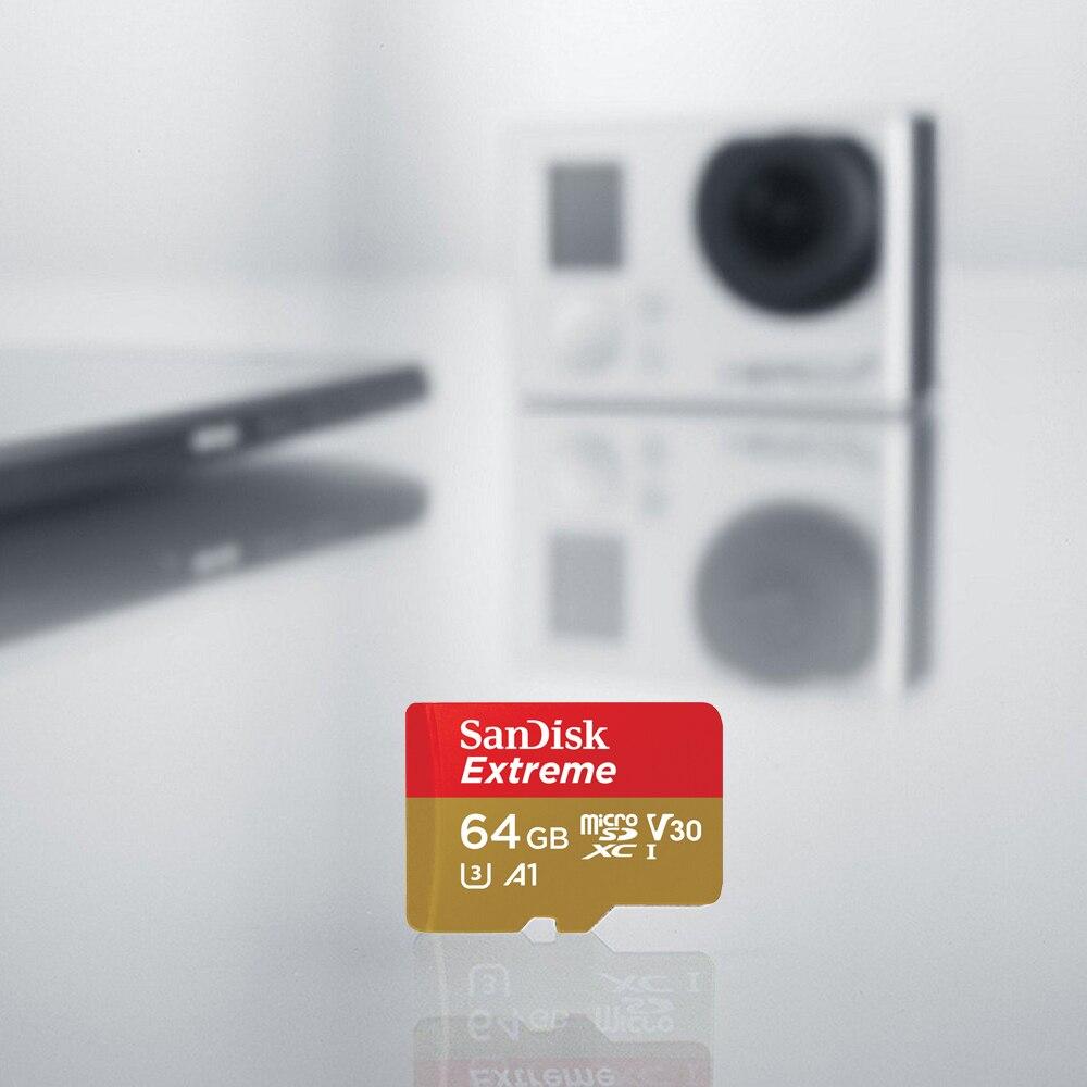 Original Sandisk Micro Sd 64gb Memory Card Microsdxc U3 A1 C10 100mb Extreme Pro Microsd S Microsdhc Uhs I 4k Tf Trans Flash Cartao De Memoria Tarjeta In Cards From