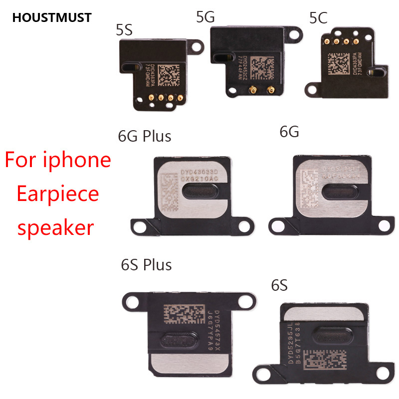 HOUSMUST  Good Quality For IPhone 6G 6s 6 Plus 5 5G 5s 5c Earpiece Ear Piece Sound Speaker Flex Cable Replacement Repair Parts
