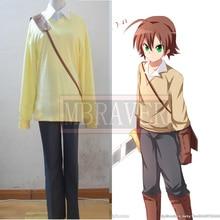 Anime Akame ga Kill Tatsumi Cosplay Costume