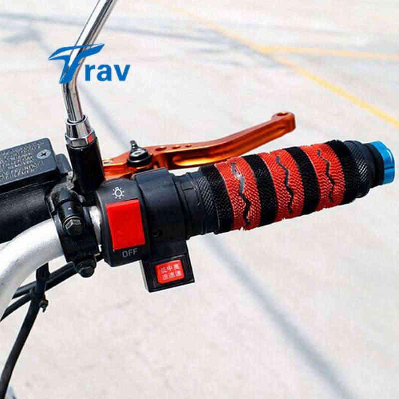 Универсальный мотоцикл руль монтажный переключатель для мотоцикла противотуманная фара Головной Свет