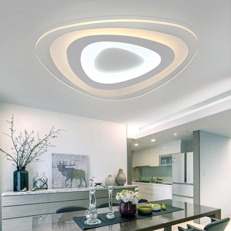 Ceiling Lighting Led Ceiling Lights Kitchen 110 220v Flush: Led Ceiling Light Ultra Thin Acrylic Modern Led Ceiling