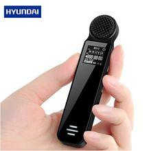 Yescool K606 Профессиональный enregistreur Диктофон мини Голосовая активация Портативный цифровой диктофон MP3 плеер с динамиком