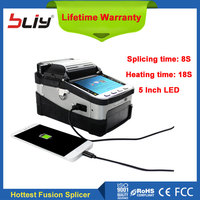 3 In 1 Hot Optical Fiber Fusion Splicer FTTH Life Warranty Fiber Optic Splicing Machine For