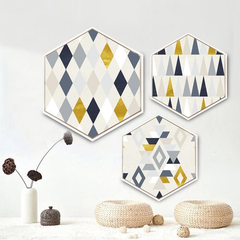 Шестигранник простий сучасний - Домашній декор